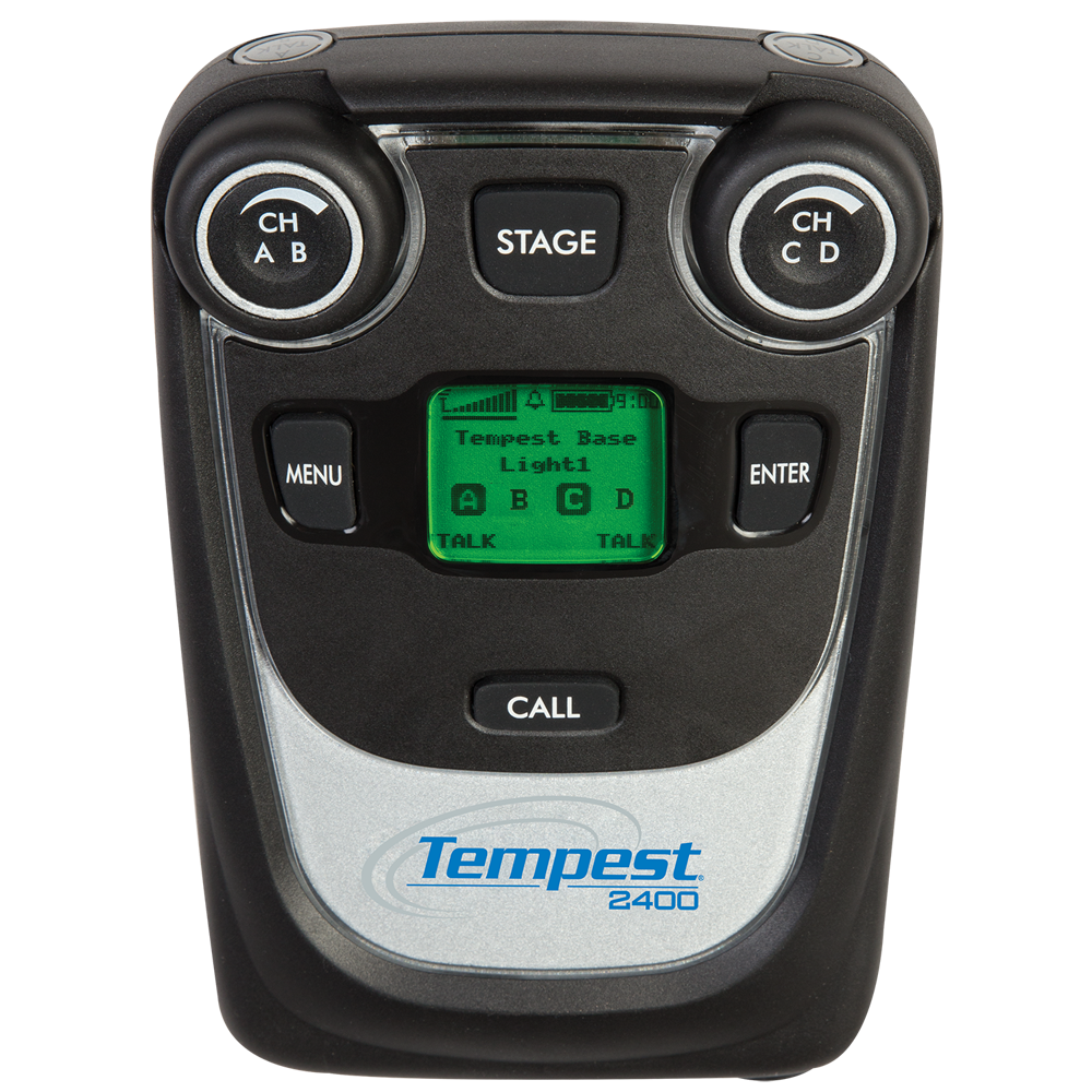 Tempest 2.4GHz 4-Channel Wireless BeltStation (CE)